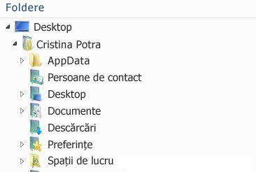 Spațiile de lucru din SharePoint Workspace 2010 apar în acest folder din sistemul dvs. de fișiere