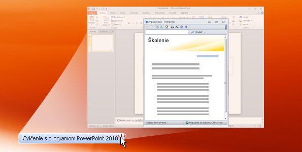 Praktické cvičenie v programe PowerPoint 2010