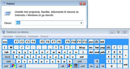 Tastatura na ekranu