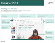 Hướng dẫn Bắt đầu Nhanh dành cho Publisher 2013