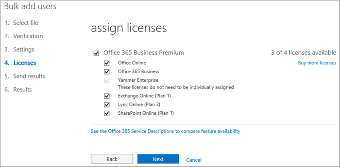how to add a user to office365