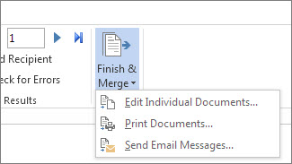 how to create a list in excel for mail merge