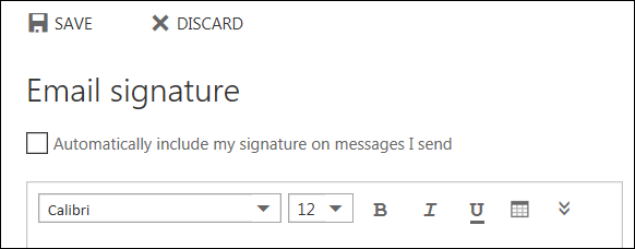 how to create signature with windows live mail
