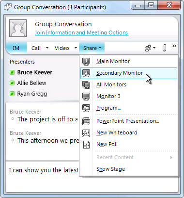lync online meeting not showing in outlook 2013 In the body you will see the link to join the online meeting that is being scheduled and the recipient can then click on the lync meeting and join in outlook lync meeting a meeting request will then appear in the user's mailbox outlook meeting request once the user clicks on the message and joins the online meeting,.