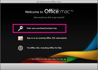 Microsoft Office 2011 Activator For Mac