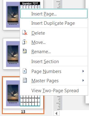 remove page from pdf and insert page