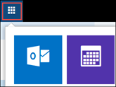 Outlook on the web App Launcher