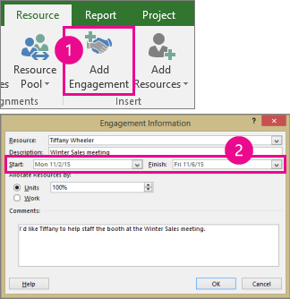 how to create a project plan in microsoft project 2016