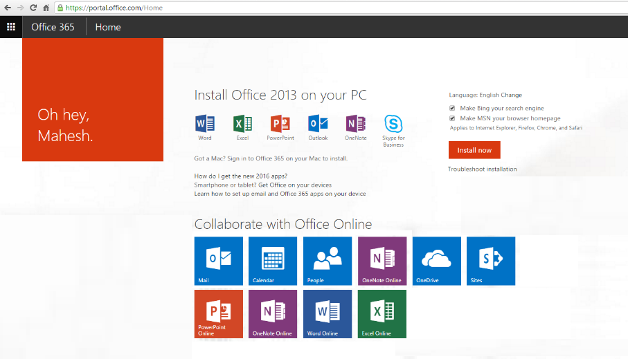 Using onenote class notebooks with a free office 365 - Create account in office 365 ...