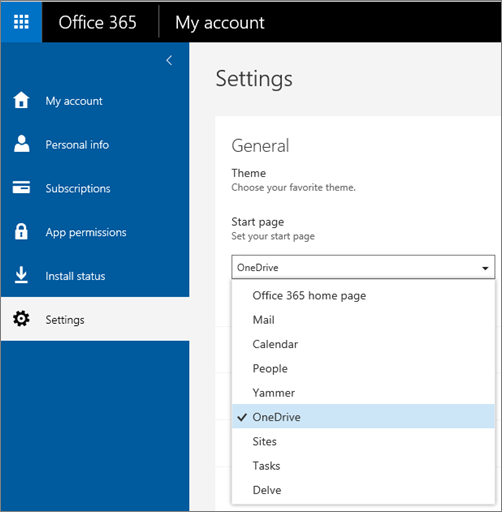 Personalize your office 365 experience office 365 - Open office windows 8 01 net ...