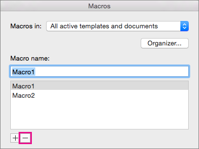 how to delete word off your mac