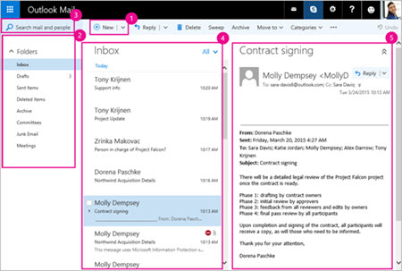 how to create a new email id in outlook