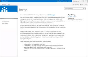 using templates to create different kinds of sharepoint online sites