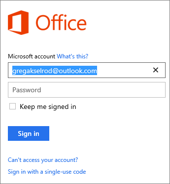 how to delete microsoft office account