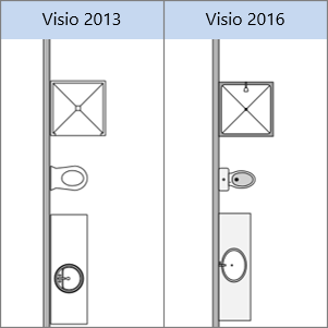 What 39 s new in visio 2016 visio for Visio garden template