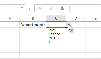 Productivity Tips: Create a drop-down list in Excel