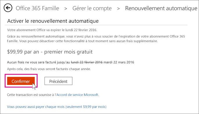 Renouveler office 365 pour les particuliers office 365 - Office 365 famille premium cle gratuit ...