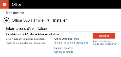 T l charger et installer ou d sinstaller office 2016 pour - Comment telecharger open office sur mac ...
