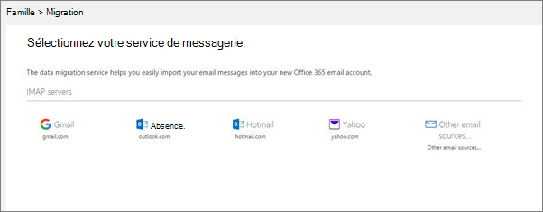 Migration imap dans l 39 aper u du centre d 39 administration office 365 - Office de migration internationale ...