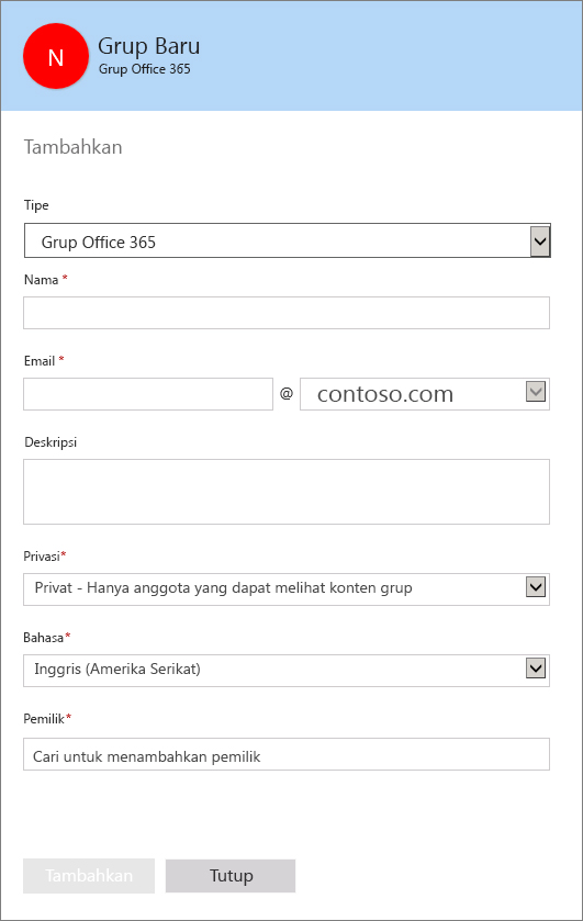 how to create a distribution list in office 365