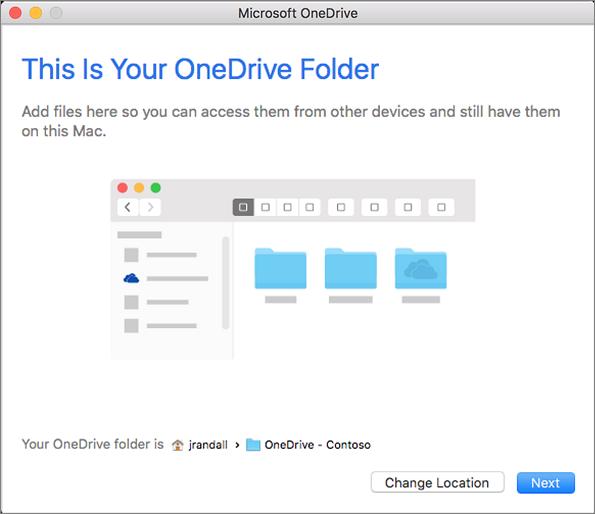 Pada skrin Menyegerakkan fail dari anda OneDrive , anda boleh memilih ...